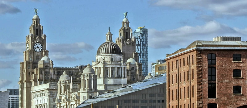 Buildings in Liverpool