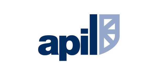 The logo for the Association of Personal Injury Lawyers (APIL)