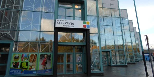 Concourse Shopping Centre in Skelmersdale
