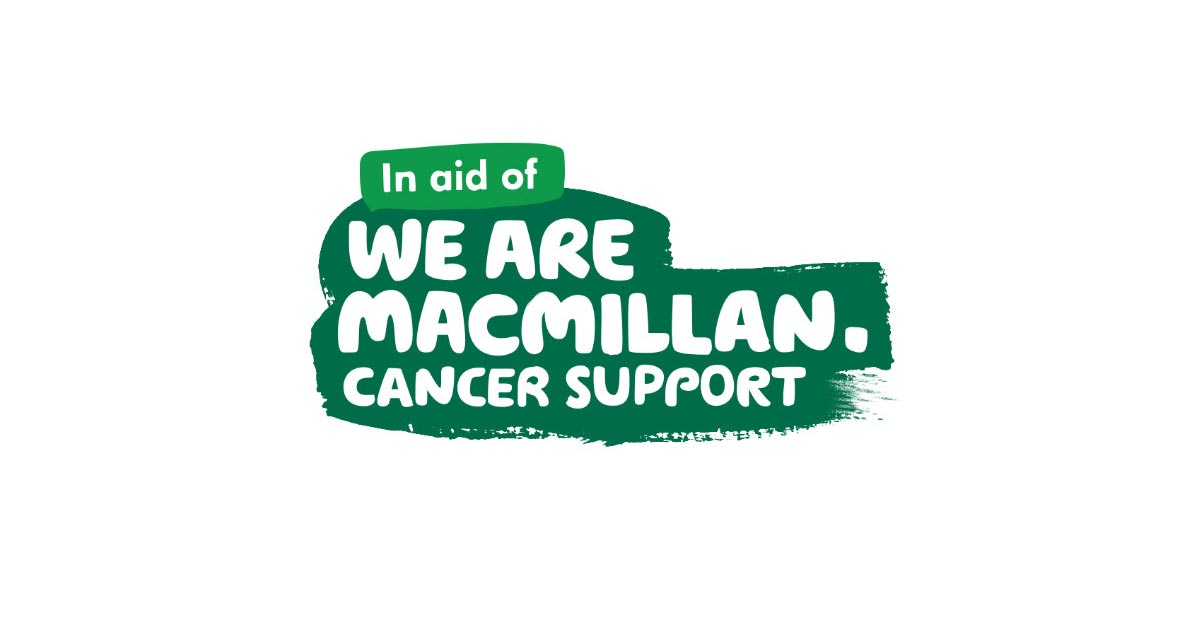 The logo for Macmillan Cancer Support
