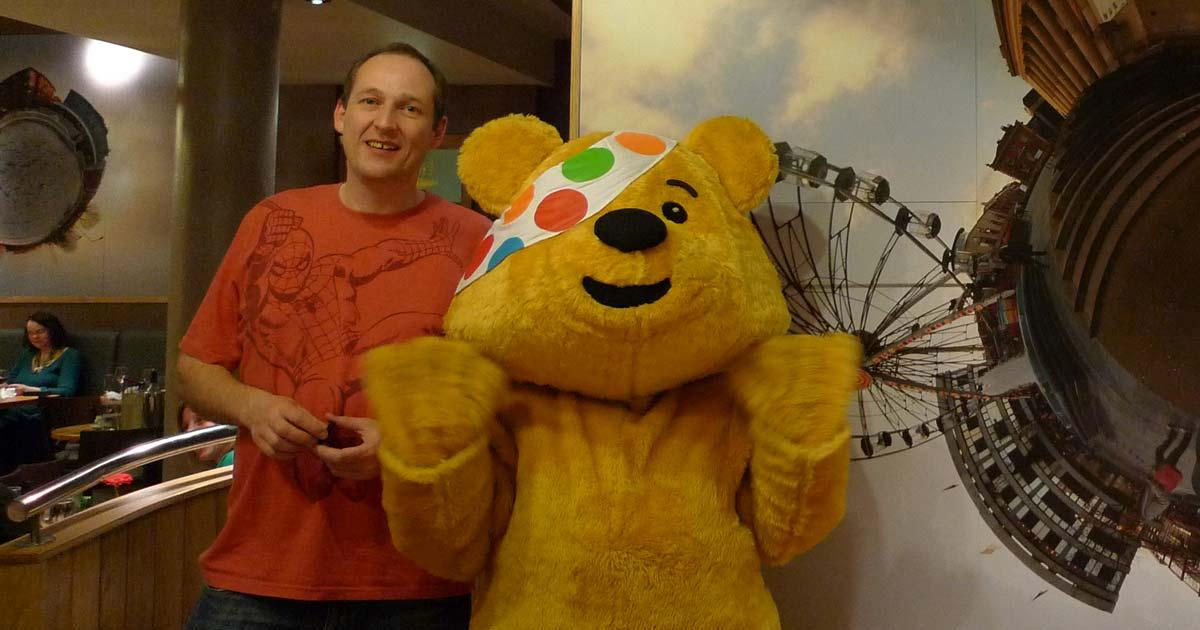 Pudsey Bear image