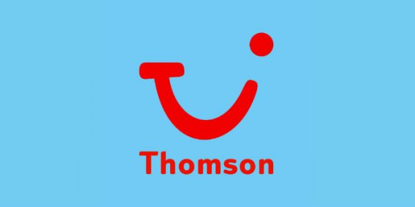 Logo of Thomson holiday firm