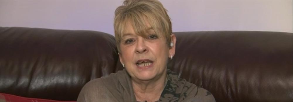 Jakki Smith in her interview with the BBC