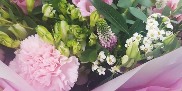 Flower bouquet for Lucy Lu