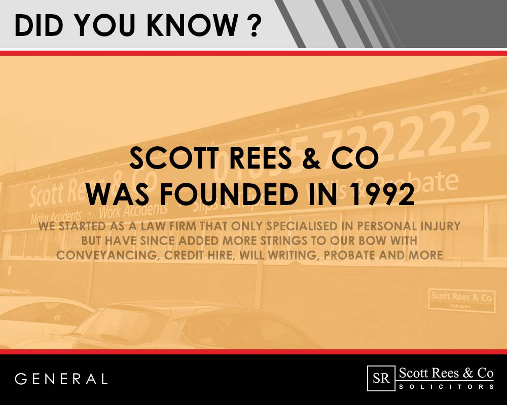 Did you know? Scott Rees & Co was founded in 1992