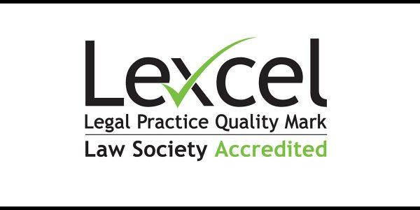 Lexcel accreditation logo