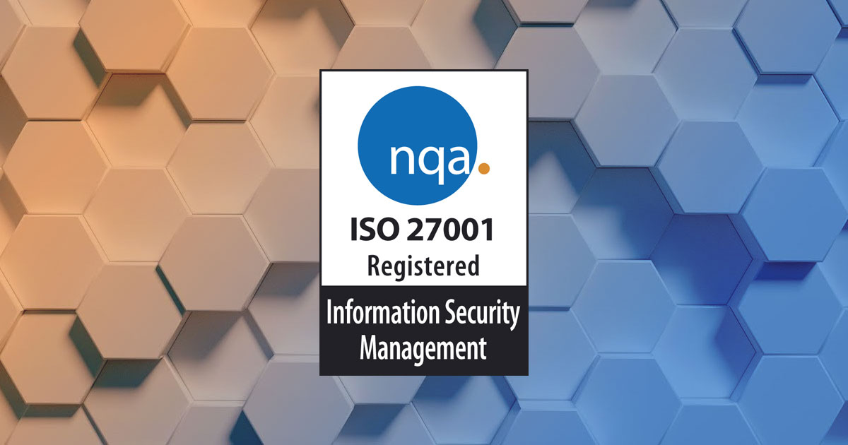 Scott Rees & Co are accredited with ISO27001 in 2019!