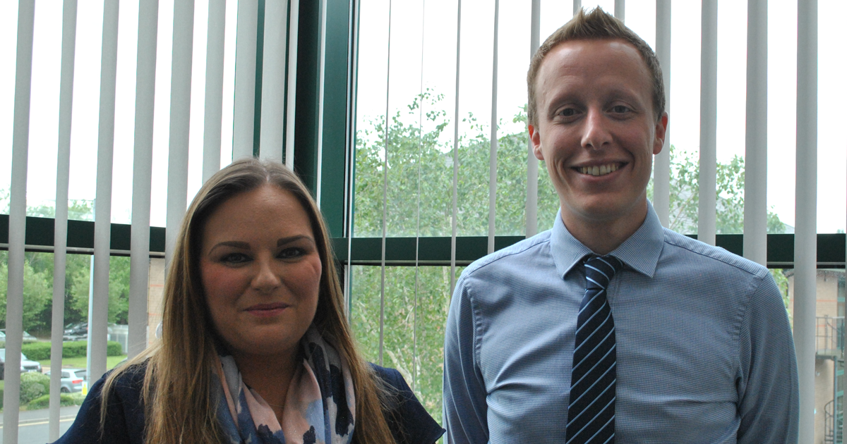Louise Dempsey and Paul Harrison promoted to Associates in May 2019