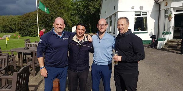 Chris Walker took part in Headway's Charity Golf Event at Lytham in 2019