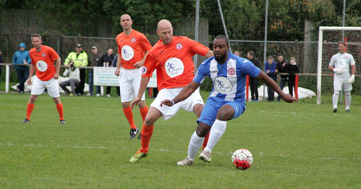 Josephs Goal 2017 Latics Legends vs Dutch Masters at Ashton-in-Makerfield