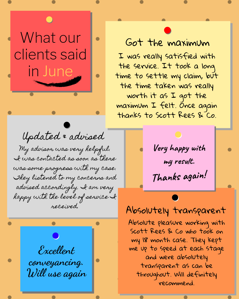 What our clients said in June 2019