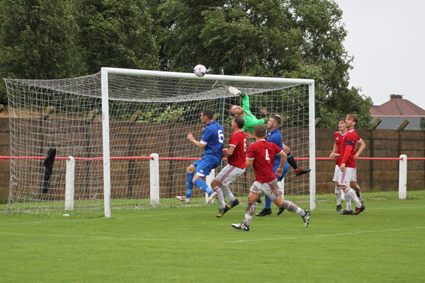 Ashton Town goal against Prestwich Heys 2019