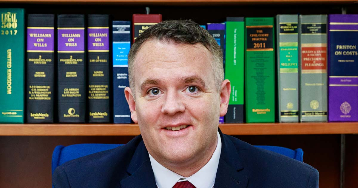 Peter Bland of Scott Rees & Co solicitors