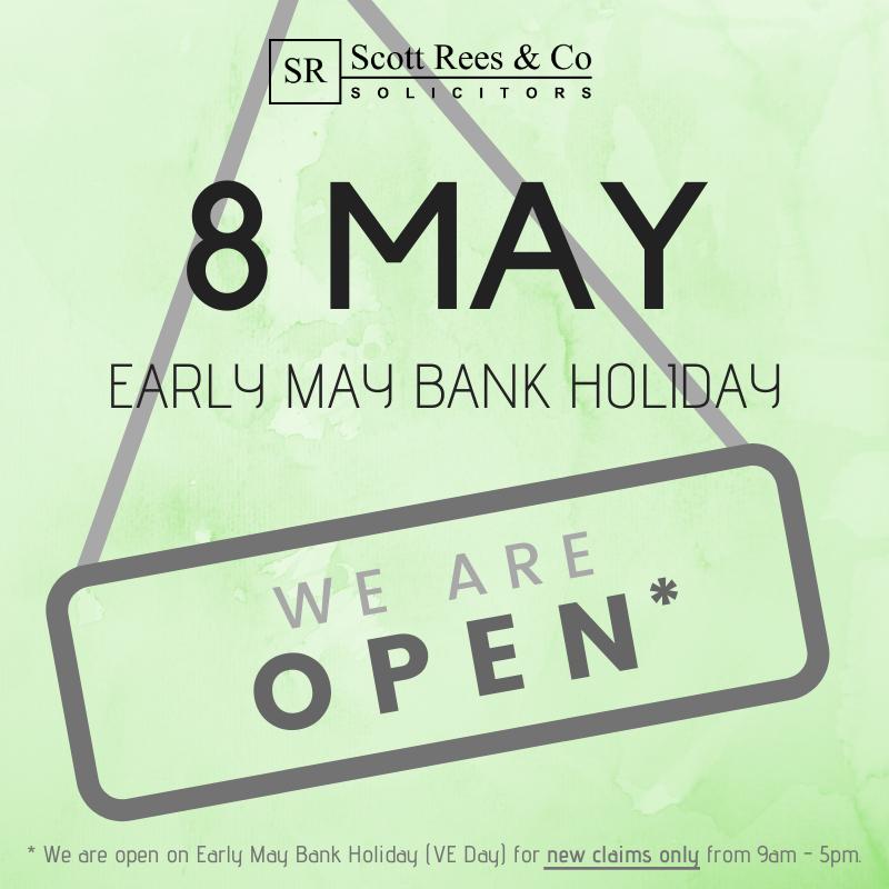 8 May 2020 - Early May Bank Holiday