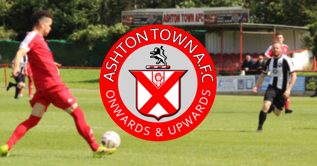 Ashton Town logo and banner