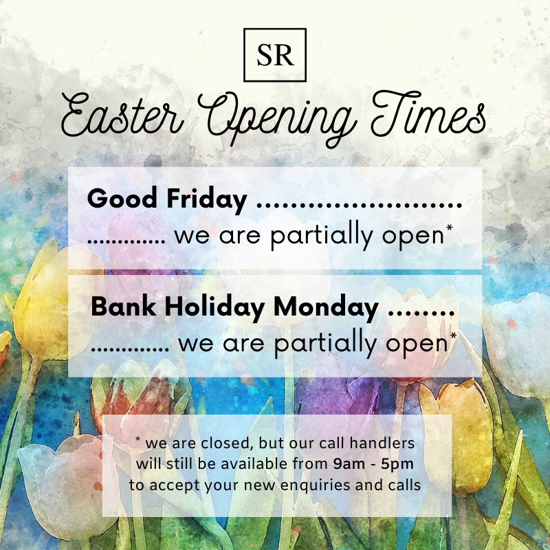 Easter 2021 Opening Times