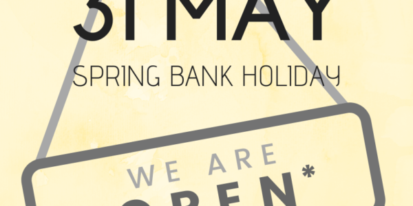 Spring Bank Holiday 2021