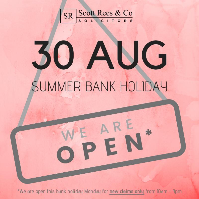 Summer bank holiday 2021